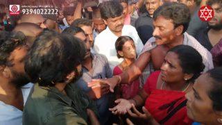 JanaSena Chief Pawan Kalyan Interaction With Metturu Villagers (VamshaDhara Nirvasithulu)